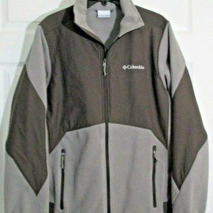 Columbia Interchange Jacket sz M Gray